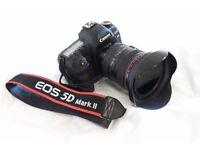 Canon EOS 5D Mark II 21.1MP Digital SLR Camera+Canon 24-105 F4 IS USM
