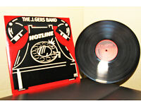 The J Geils Band : Hotline : Vinyl//LP