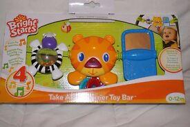 Take along carrier toy bar