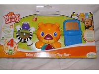 Take along carrier toy bar