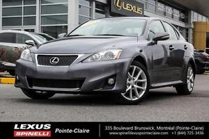2013 Lexus IS 250 AWD /CUIR /TOIT OUVRANT All-wheel drive, leath