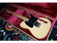 Fender Baja Telecaster (With case and better pickups).