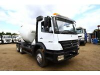 2005 MERCEDES AXOR 2633 6X4 CONCRETE MXIER TRUCK FOR SALE CEMENT MIXER TRUCKS FOR SALE IN LONDON