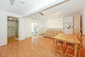 An own entrance, one double bedroom apartment with use of a private rear garden.