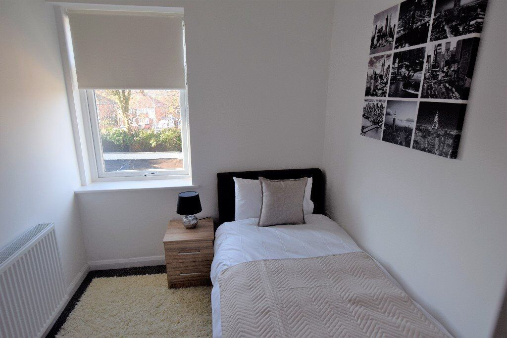 Brand New Top Quality Fully Furnished Single Rooms with En-Suite Available to rent in Mansfield