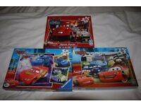 Childrens Puzzles e.g. Cars, Toy Story, Disney & Thomas