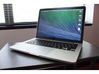 Apple Macbook Pro Retina 13 inch Mid 2014 Model, great condition