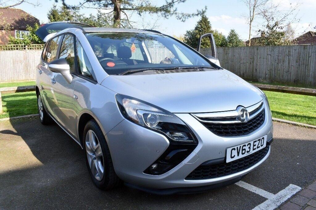 2014 (63) Vauxhall Zafira Tourer Exclusiv 2.0CDTi, 7 seater, 38,000 miles, FSH