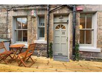 Small but beautiful maindoor garden flat close to city centre and Leith Walk.