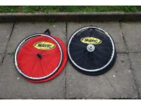 Mavic Ksyrium Equipe S Road Wheelset inc Tyres, Bags, Casette