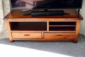 TELEVISION / HIFI SOLID WOOD STAND