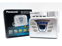 RETRO Panasonic RQ-CR15V Portable Cassette Player AM FM Radio Autorev Extra Bass