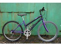 Girls Purple 24 Inch Wheel Mountain Bike 7- 11 Years Fully Serviced