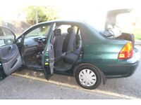 2003 SUZUKI LIANA - 4 doors -Low Mileage 40000