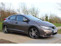 2013 Honda Civic 1.8 I-VTEC SE-T 5d 140 BHP SAT-NAV, MANUAL, LOW MILEAGE, 3M ...