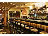 Experienced Front of House Staff: Supervisors | Waiters | Cocktail Bartenders