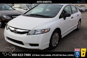 2009 Honda Civic CLEAN CARFAX, AUTOMATIQUE, CLIMATISATION