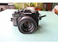 Olympus OM40 with Zuiko 50mm lens