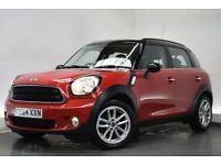 MINI COUNTRYMAN 1.6 COOPER D BUSINESS [SAT NAV] 5d 110 BHP (red) 2014