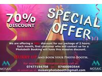 Photo booth hire/Wedding Photo Booth/Anniversary Photo booth/Corporate party Photo booth/Photobooth