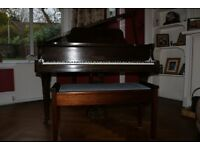 Rogers of London Baby Grand Piano.