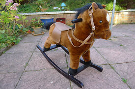 Child rocking horse with Sounds