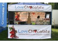 CHOCOLATE FOUNTAIN BUSINESS FOR SALE