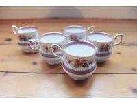 Vintage Cups (set of 5)