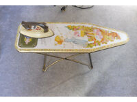 vintage chad valley Holly Hobbie Ironing Board & Iron Childs Toy
