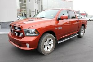 2013 RAM 1500 Sport Crew Cab - Leather - Sunroof - Navigation