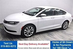 2015 Chrysler 200 S LEATHER TRIM! PADDLE SHIFTERS! BLUETOOTH! HE