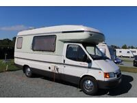 Autosleeper Amethyst 1998 4/5-berth 45600 miles FSH £13500 ono Great condition throughout