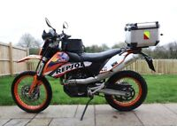 KTM 690 Enduro 2008 - Luggage, Dirt Wheels, Arrow, Recluse Clutch