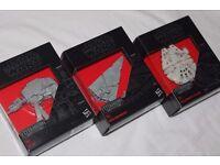 3x STAR WARS THE EMPIRE STRIKES BACK The Black Series models TITANIUM 01/18/24 NEW incl AT-AT