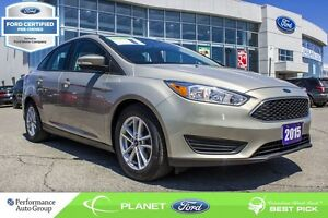 2015 Ford Focus SE FORD CERTIFIED LOW RATES & EXTRA WARRANTY