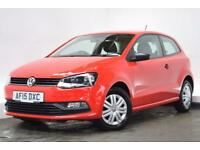 VOLKSWAGEN POLO 1.0 S AC 3d 60 BHP (red) 2015