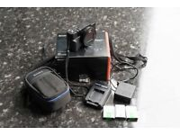 Sony Cyber-shot RX100 III 20.1MP Digital Camera With Grip attachment + Case