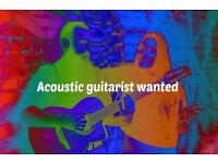Experienced acoustic guitarist wanted