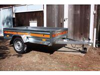 Brand New Car Trailer - Utility - Multi-Purpose - DIY - 750kg - Removable rear tailgate
