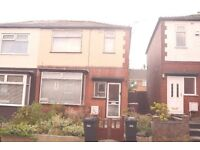 3 BED SEMI DETACHED HOUSE - POPULAR LOCATION - STANLEY ROAD, HEATON, BOLTON
