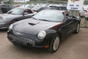 2002 Ford Thunderbird Convertible, Leather, Loaded