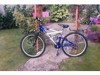 Nearly new Blue Bike