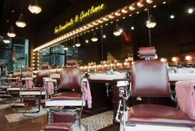 Free haircut at barber barber spitalfields