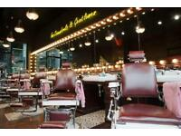 Free haircut at barber barber spitalfields