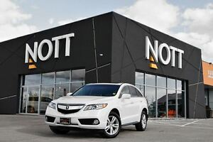 2014 Acura RDX AWD w/ Tech Pkg., Moonroof, Nav., Heated Leather