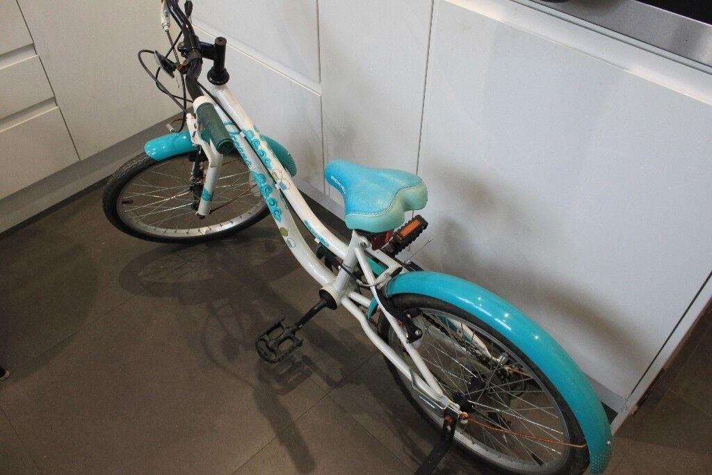 Girls' bike with stabilisers - Apollo Oceana