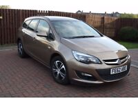 Vauxhall Astra 2012 1.6 petrol ,6 speed automatic, low millage-40.500