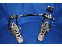 Millenium Model PD-222 Heavy Duty Double Bass / Kick Drum Pedal and Carry Case
