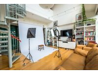 PHOTO / FILM / LOCATION STUDIO - Spacious Photography Studio & Location House in East/Central London
