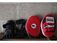 MMA Gloves and PADS
